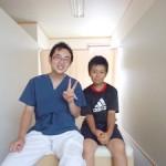 たちばな治療院 患者さんとの写真
